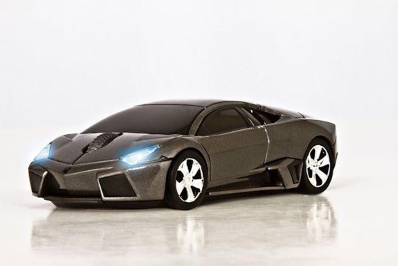 Souris Lamborghini grise Image de l'article