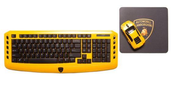 Lamborghini Wireless Keyboard Set Product image