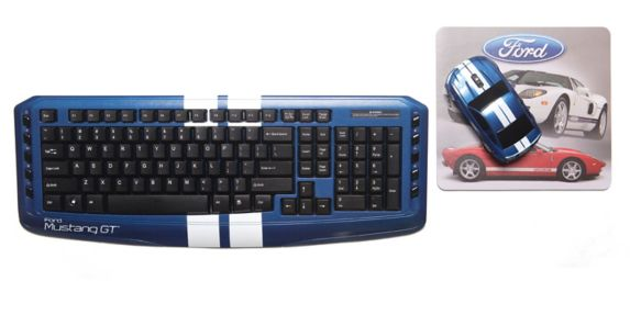 Ford Wireless Keyboard Set