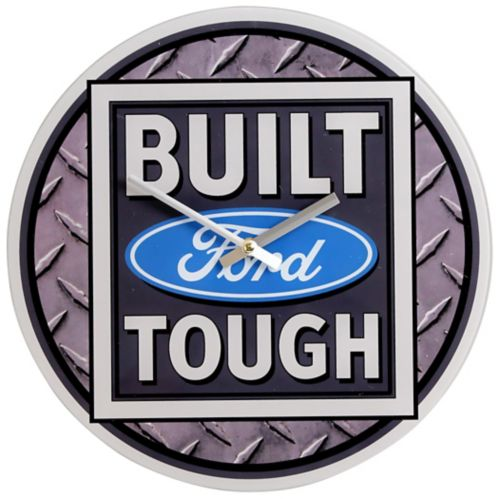 Built Ford Touch Glass Clock