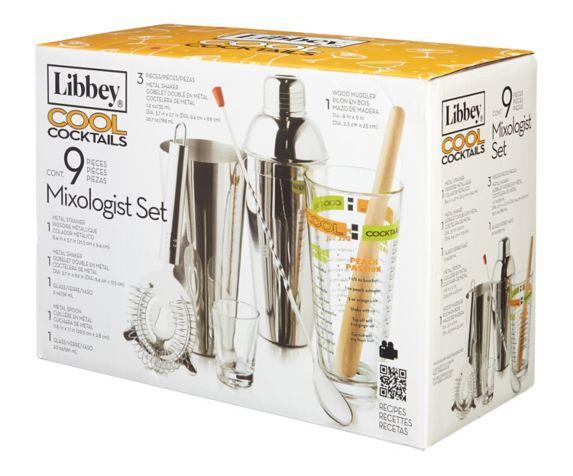 Accessoires pour cocktails Libbey Cool, 9 pièces Image de l'article