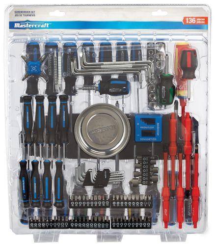 MasterCraft Screwdriver Set, 136-pc Product image