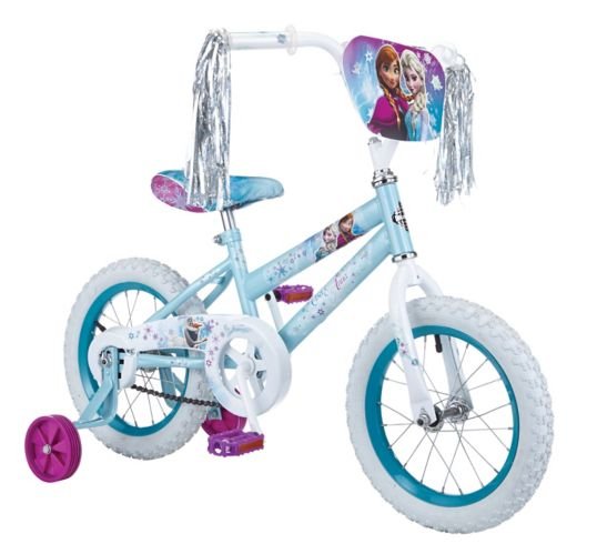 Disney Frozen Kids' Bike, 14-in