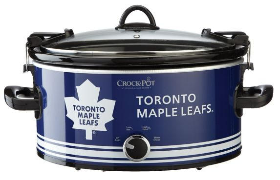 Crock-Pot Toronto Maple Leafs Slow Cooker, 6-qt