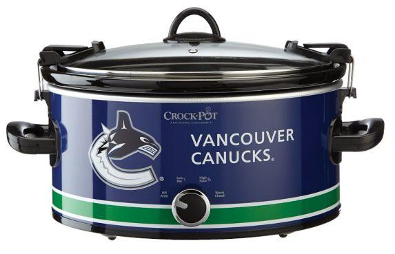 Mijoteuse Crock-Pot Canucks de Vancouver, 6 pintes Image de l'article