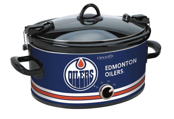 Crock-Pot Edmonton Oilers Slow Cooker, 6-qt Product image
