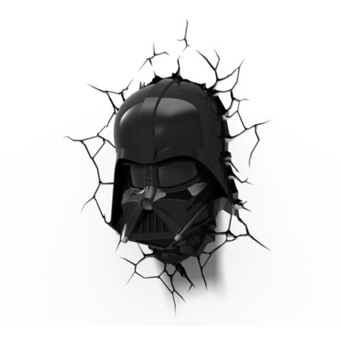 Veilleuse 3D Star Wars, Darth Vader Image de l'article