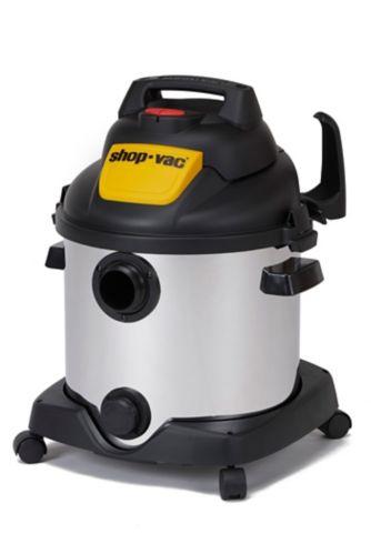 Aspirateur de déchets secs/humides Shop-Vac, acier inoxydable, 30 L Image de l'article