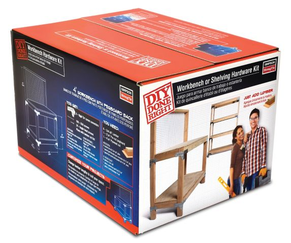 Simpson Strong Tie Workbench/Shelving Unit Hardware Kit Product image