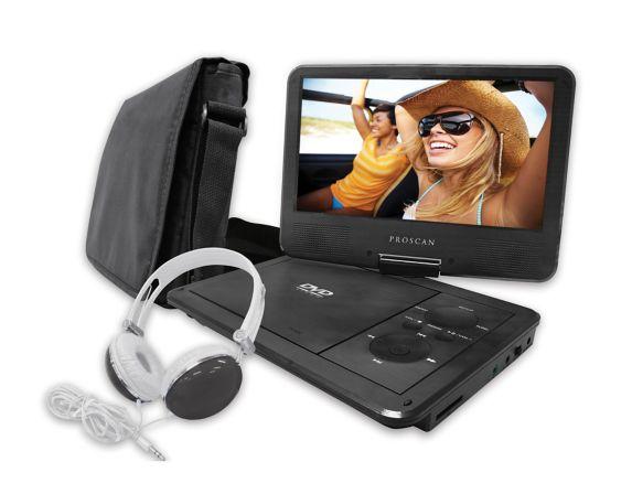 Lecteur de DVD portable Proscan avec écran pivotant, 9 po Image de l'article