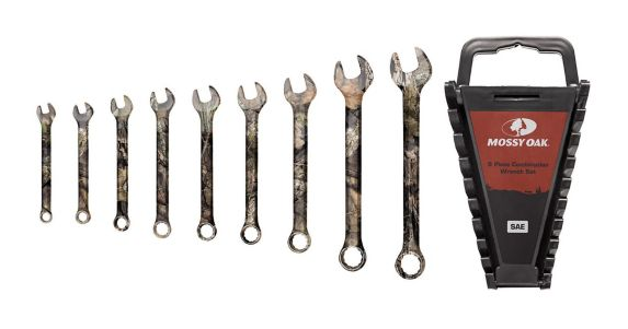 Camo Imperial Wrench Set, 9-pc