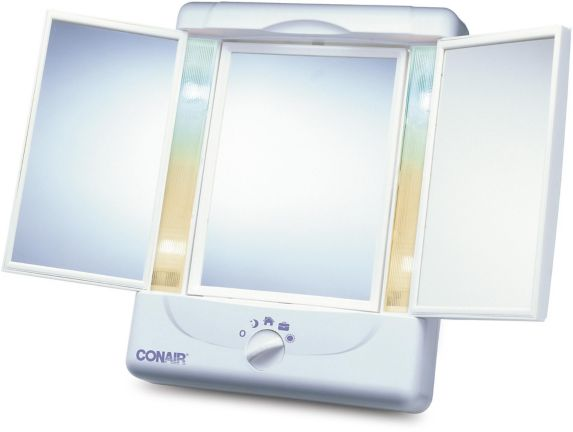 Five Times Variable Light Mirror with Doors Product image
