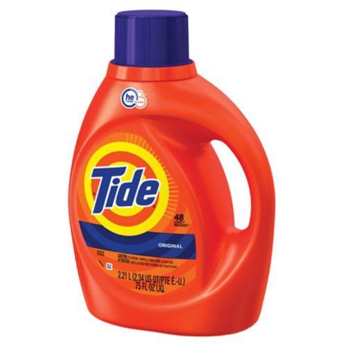 Détergent à lessive liquide Tide HE, 48 brassées Image de l'article