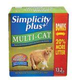 Litière de qualité supérieure Simplicity Plus, 13,2 kg | Simplicitynull
