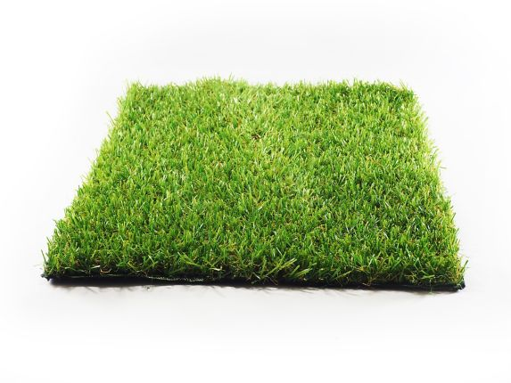 Multy Home Pre-Cut Turf Outdoor Rug, Green, 5x5-ft Product image