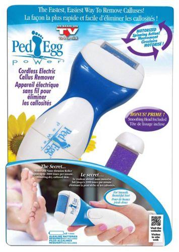 Retire-durillons électrique Ped Egg, Comme à la télé, blanc Image de l'article
