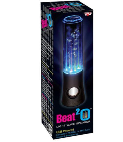 Haut-parleur aqua lumineux Beat 2-O, comme à la télé Image de l'article