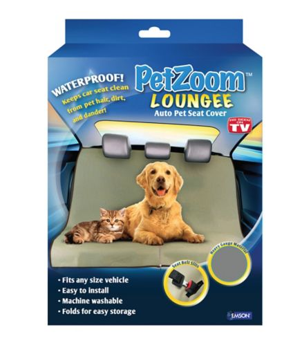 As Seen On TV Pet Zoom Lounge Auto Pet Seat Cover Product image