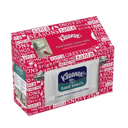 Kleenex Hand Towels, Holiday Design, 55-pc Product image