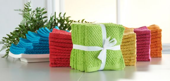 Washcloths, 10-pc