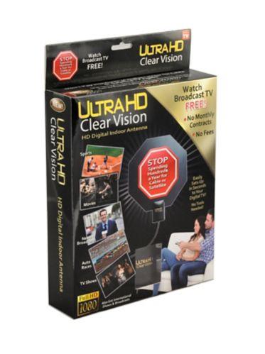 Antenne d'intérieur Ultra HD Clear Vision, comme à la télé Image de l'article