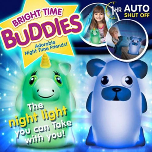 As Seen On TV Brite Time Buddies Night Light