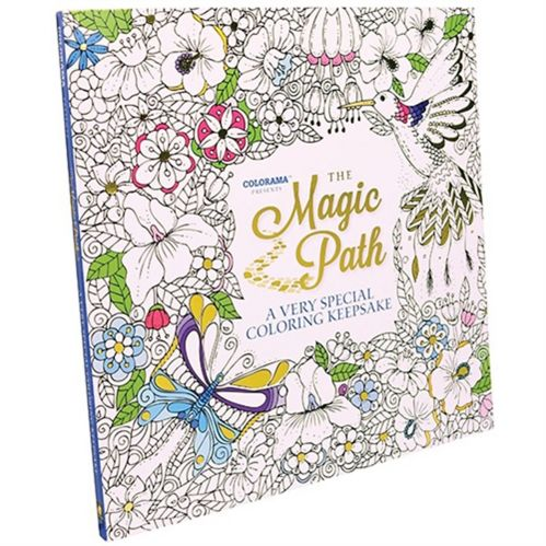 Cahier à colorier pour adultes Colorama Magic Path, comme à la télé Image de l'article