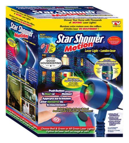 Lumière laser Comme à la télé Star Shower Motion Image de l'article