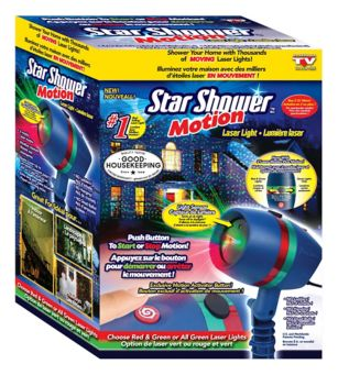 As Seen On Tv Star Shower Motion Laser Light Canadian Tire