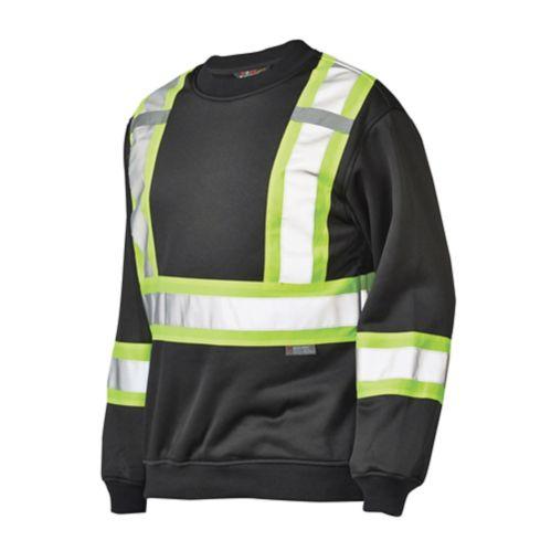 High-Visibility Crew Neck Sweatshirt Product image