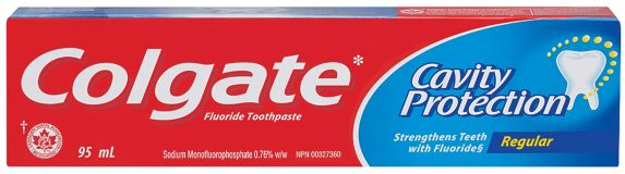 Colgate Cavity Protection Toothpaste, Regular, 95-mL Product image