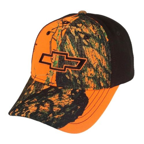Chevy 6 Panel Camo Hat