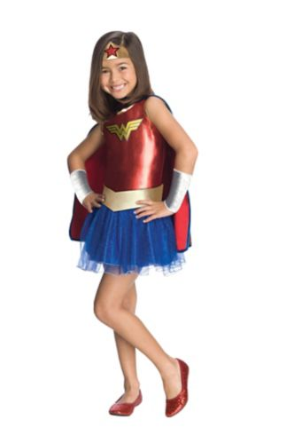 Costume d'Halloween pour enfants, Wonderwoman Image de l'article