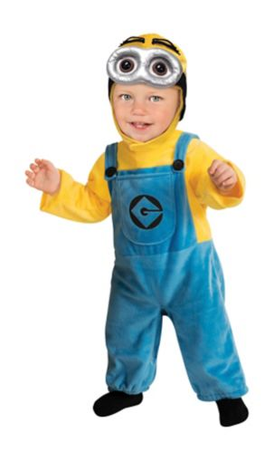 Minion Toddler Halloween Costume