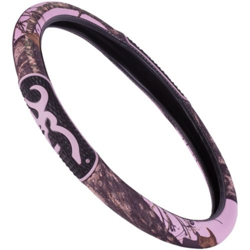 Browning® Steering Wheel Cover, Pink