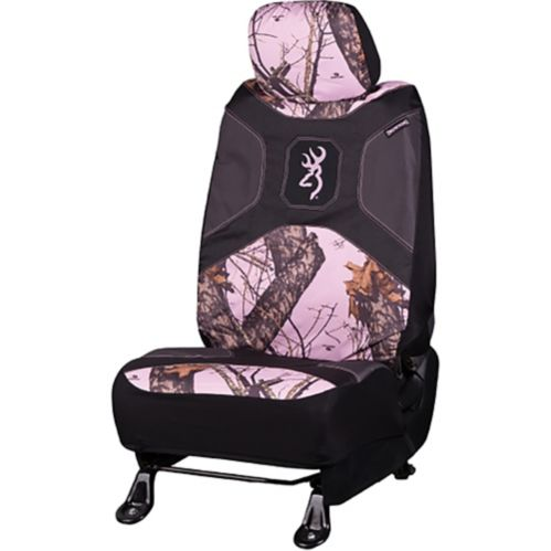 Browning Low Back Seat Cover, Pink Product image