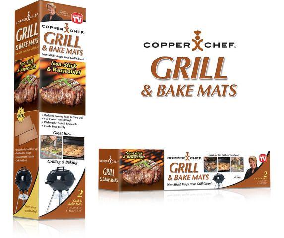 Tapis de barbecue Copper Chef, comme à la télé Image de l'article