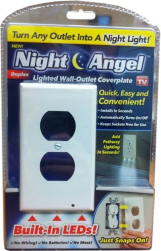 As Seen On TV Night Angel Duplex Light