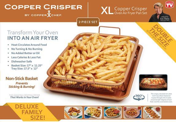 Friteuse XL Copper Crisper As Seen on TV Image de l'article