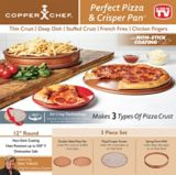 Croustilleur à pizza Copper Chef As Seen on TV | Copper Chefnull
