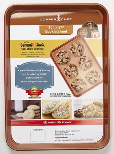 Plaque à biscuits Copper Chef, comme à la télé Image de l'article