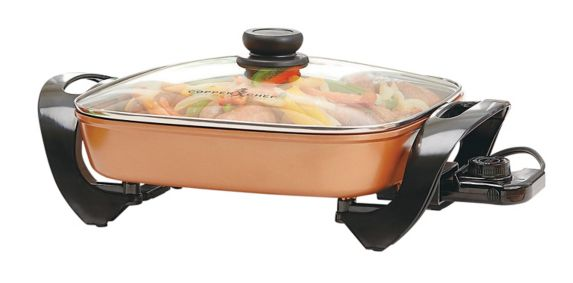 As Seen On TV Copper Chef Electric Skillet