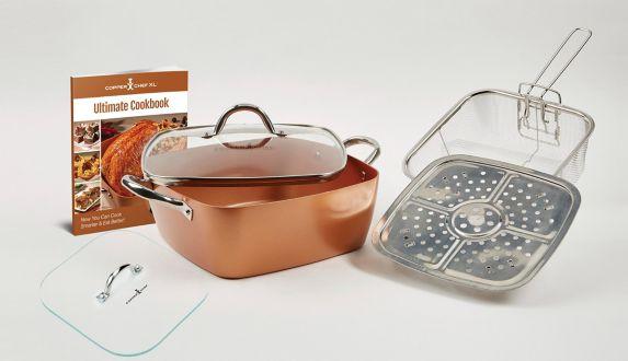 Ensemble de casseroles Copper Chef, Comme à la TV Image de l'article