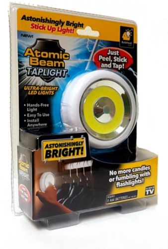 As Seen On TV Atomic Beam Tap Light Product image