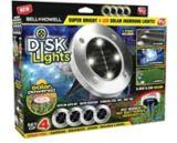 Lumières solaires d'extérieur Disk Lights Bell & Howell, Comme à la TV | Bell and Howellnull