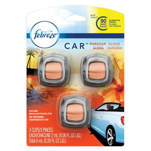 Febreze Car Vent Air Freshener, 3-pk Product image