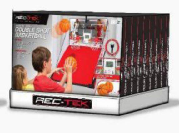 Jeu de basketball à deux paniers Rec-Tek Image de l'article