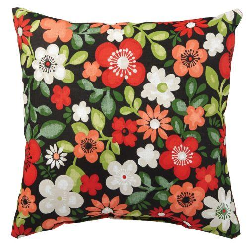 Coussin décoratif pour meuble de jardin, choix varié, 14 x 14 po Image de l'article