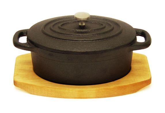 Heritage Cast Iron Mini Casserole Dish