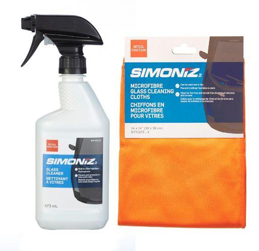 Simoniz Towel & Window Cleaner Gift Set Product image